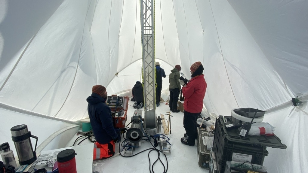 The era of the oldest ice on Earth mystery: NPR