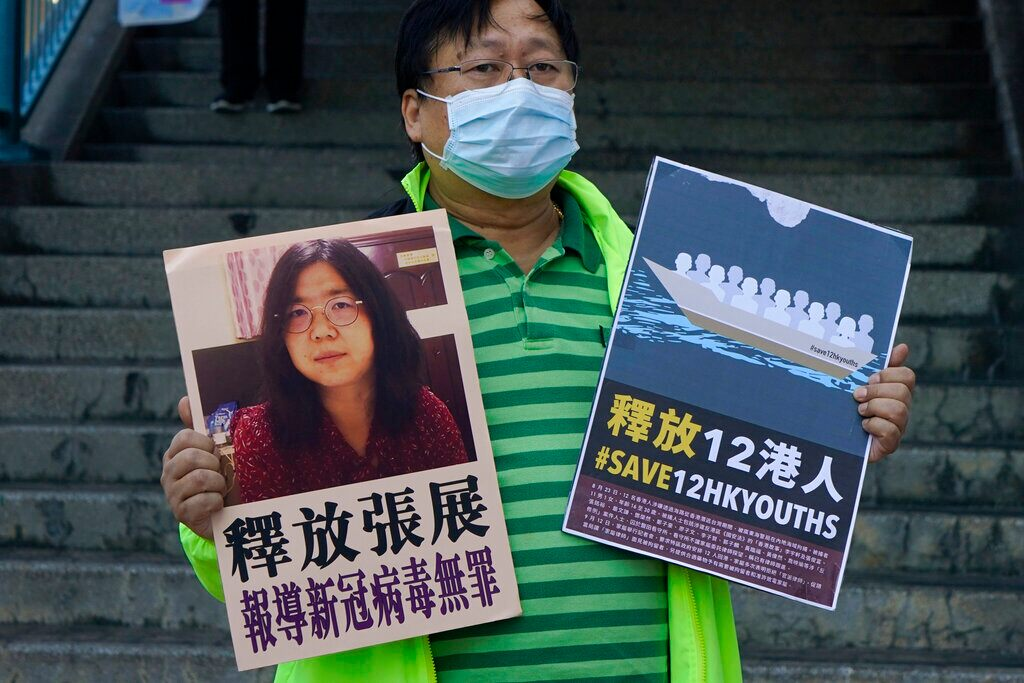The citizen journalist in China who wrote about COVID-19 has been sentenced to 4 years in prison