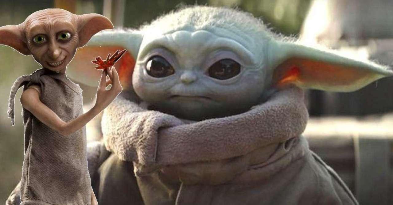 Baby Yoda Plush is absolutely terrifying and looks like Dobby