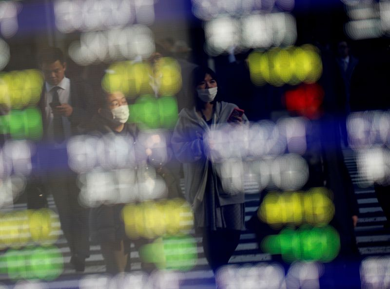 Asian stocks were halted due to Tokyo's close talk by Reuters