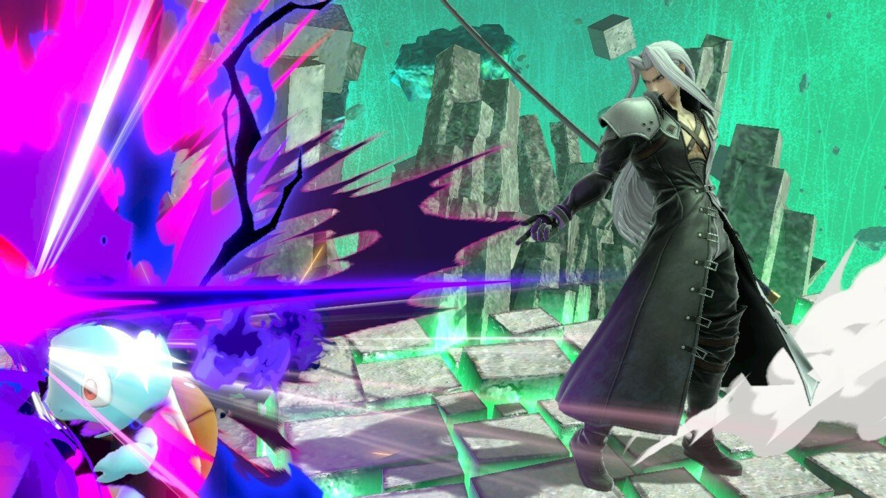 Video: Newly discovered Sephiroth flaw completely breaks down every single final crush attack