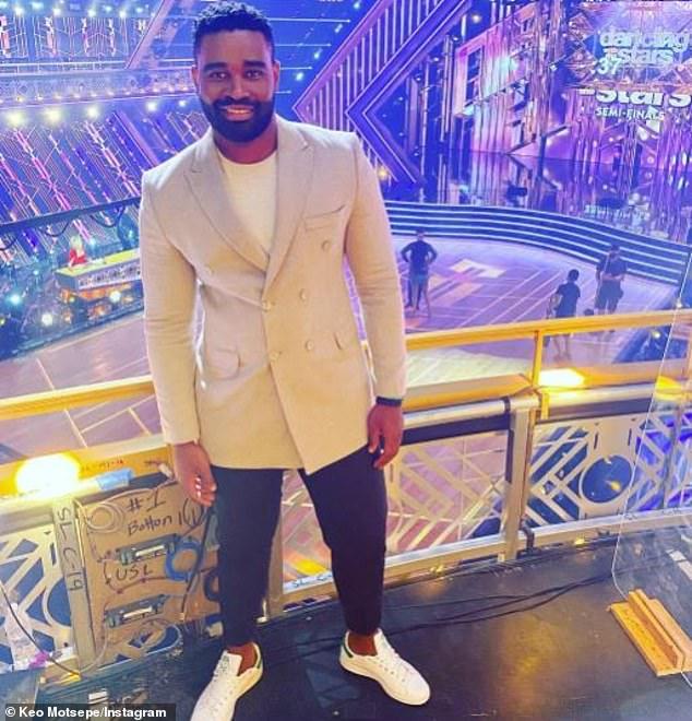 Origin: Mozebi is ABC's first black professional dancer Dancing With The Stars
