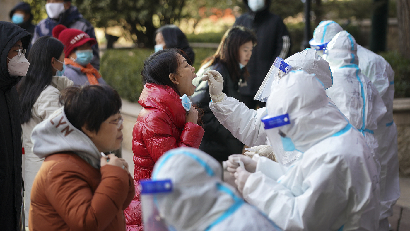 Millions in China under new restrictions amid escalating COVID-19 near Beijing: Coronavirus Update: NPR
