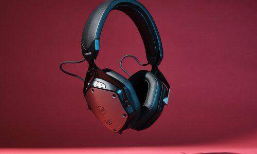 Finally, the classic V-Moda headphone design has active noise cancellation