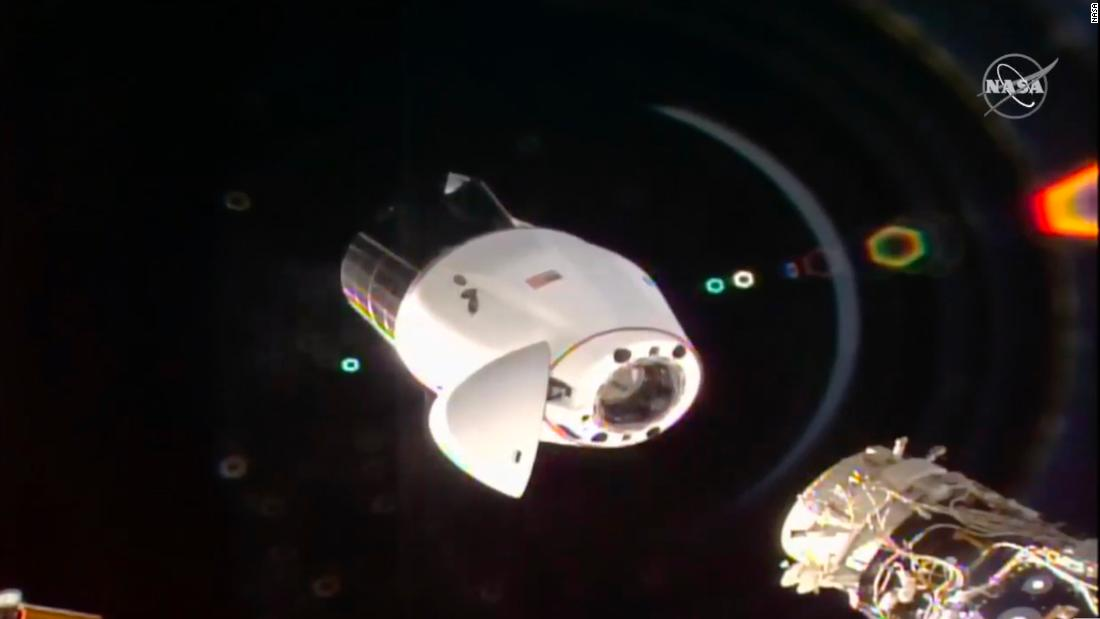 The SpaceX capsule brings some Bordeaux wine back to Earth