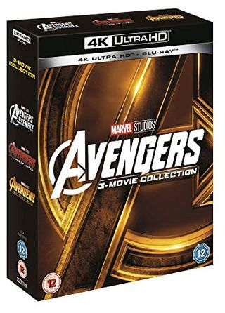 Avengers Group (1-3 Box Set) [UHD] [Blu-ray] [2018] [Region Free]