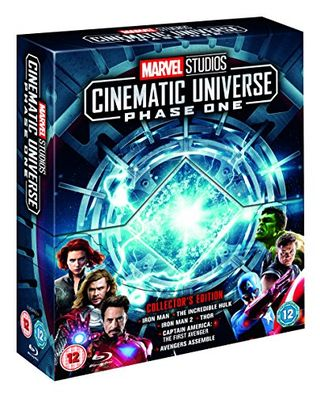 Marvel Studios Collectible Edition Box Set - Blu-ray Stage 1 [Region Free]