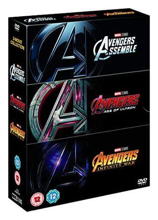 Avengers Triple Back Boxset [DVD] [2018]