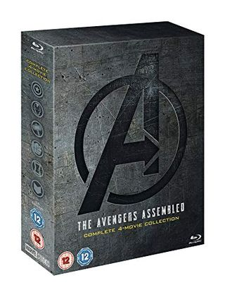 Avengers: 1-4 Complete Blu-ray Disc Set Includes Bonus Disc [2019] [Region Free]