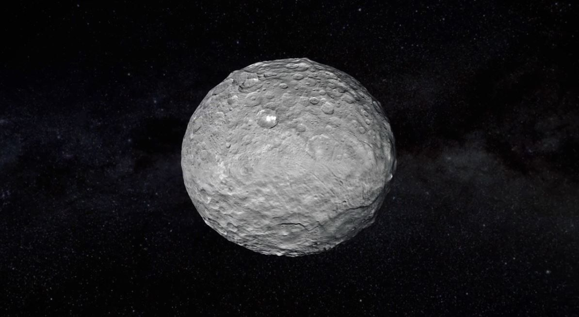 A physicist suggests that the massive inhabited satellites orbit Ceres