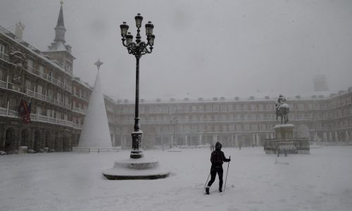 A blizzard killed 4 people and brought much of Spain to a standstill
