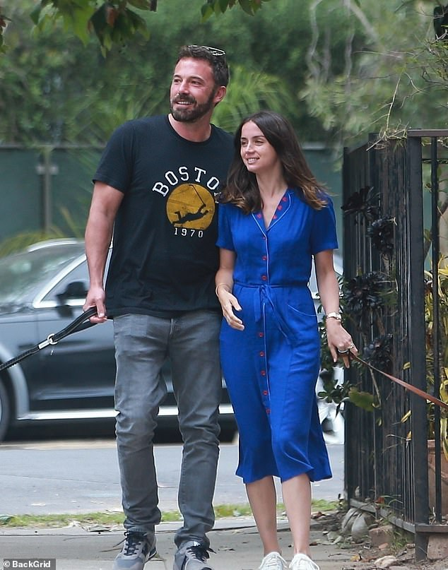 It's over: Ben Affleck is no longer dating Anna de Armas after nearly a year of dating.  They were pictured here in May 2020