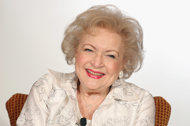Betty White revealed the secret of her long life
