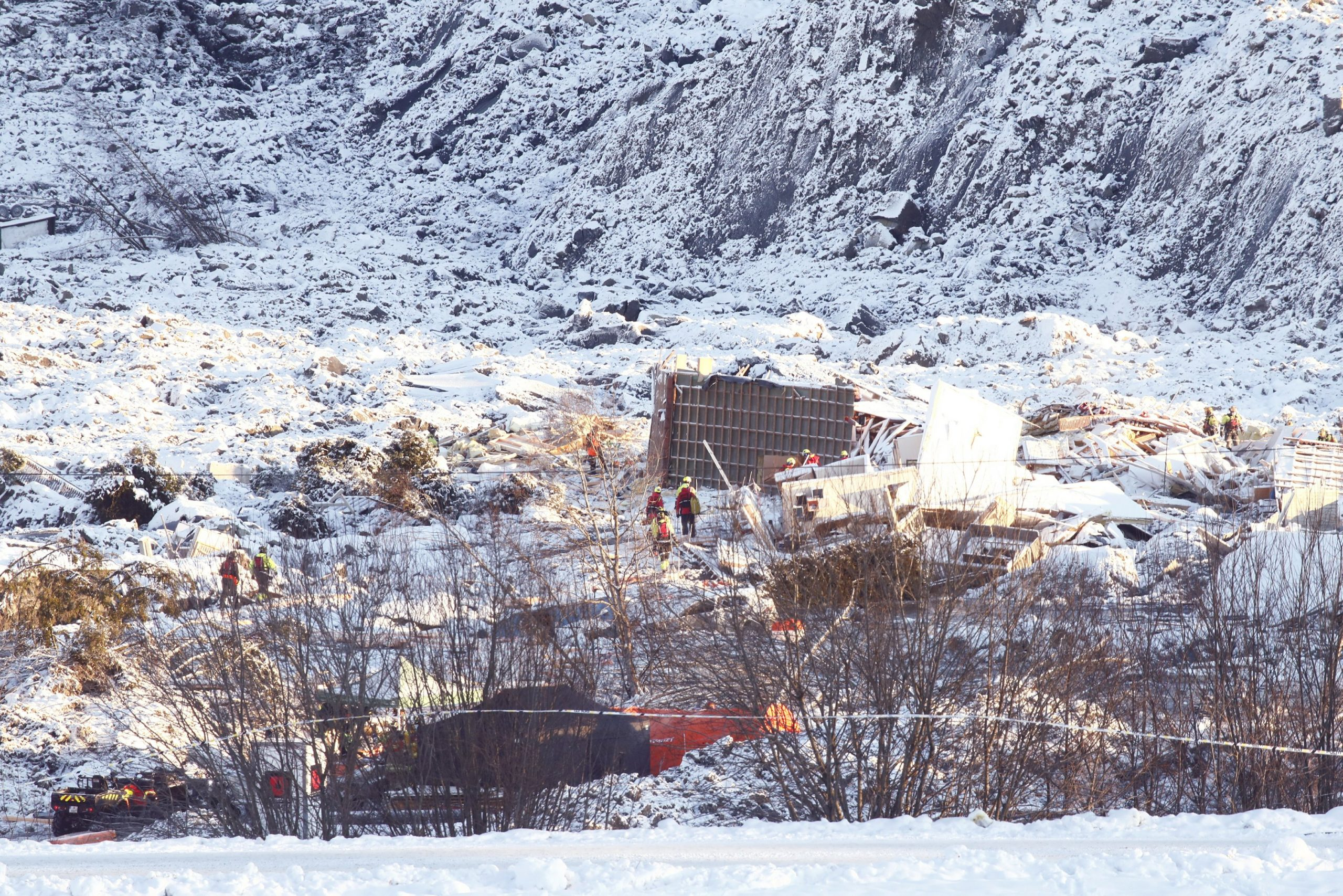 Dashed hope of a landslide in Norway that left 7 dead;  3 missing