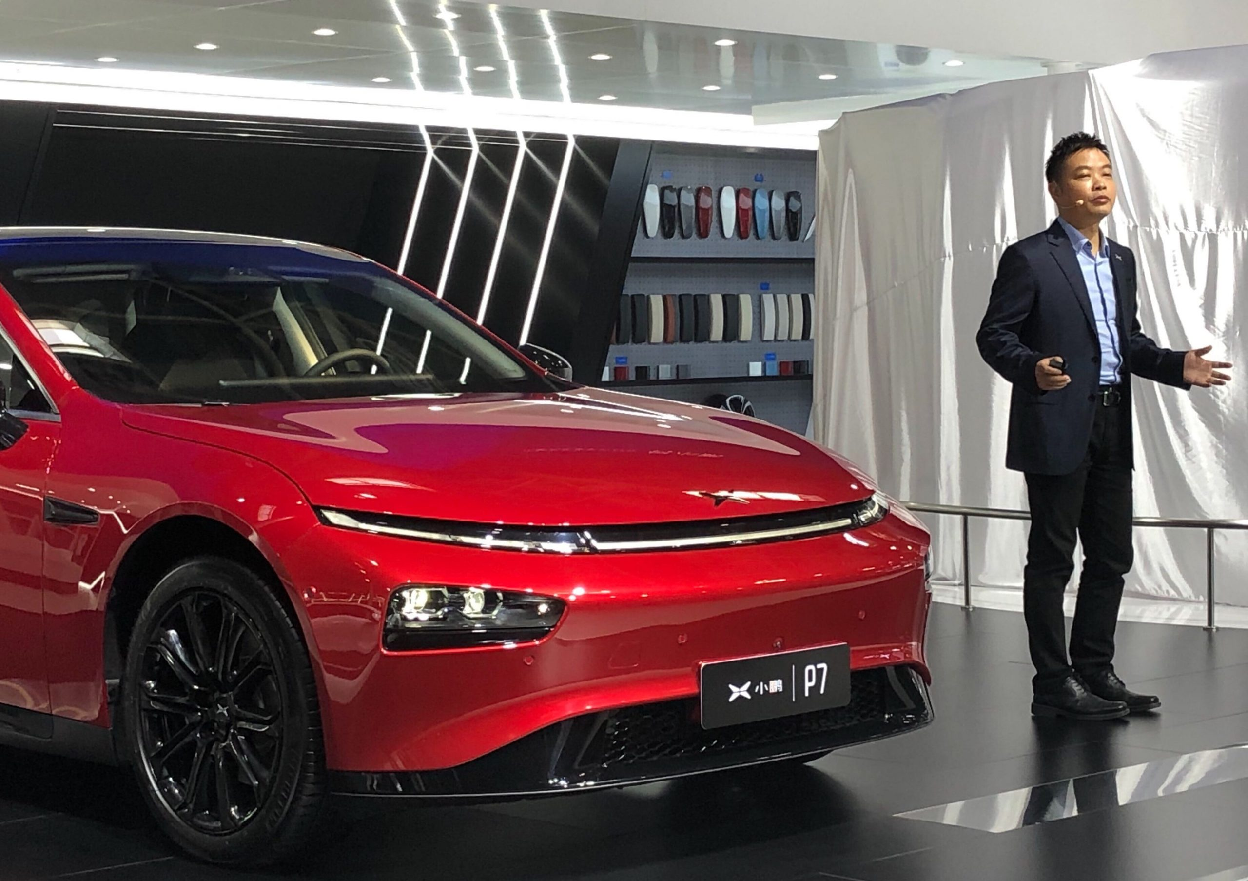 Electric car maker Xpeng is launching driverless features to rival Tesla