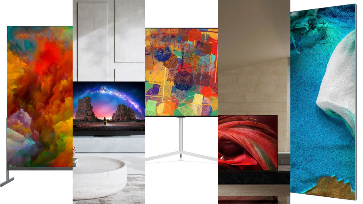 The best new televisions were announced at CES 2021